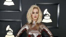 Speváčka Katy Perry si obliekla model od Toma Forda.