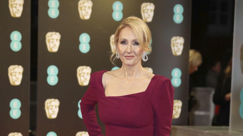 Spisovateľka a scenáristka J.K. Rowling.
