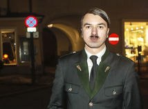 Hitler, dvojník Hitlera, imitátor Hitlera,