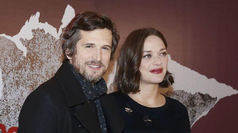 Marion Cotillard a jej partner  Guillaume Canet