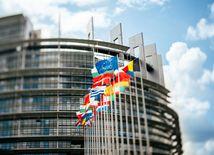 Európsky parlament, vlajky, zástavy