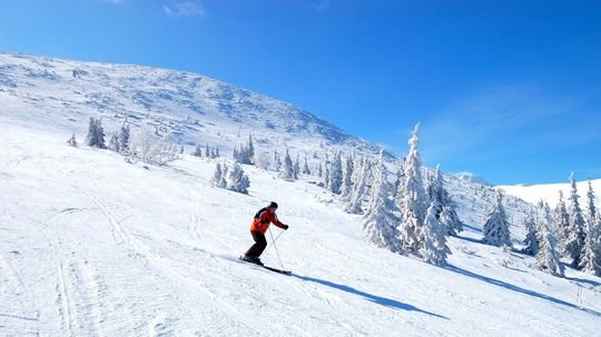 lyžovanie, lyžovačka, lyžiar, lyže, sneh, zima,...