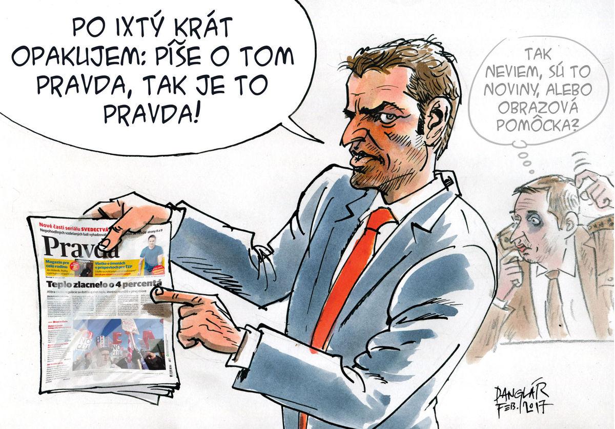 Karikatúra 17.02.2017