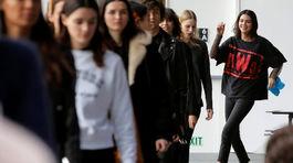 Kendall Jenner - Michael Kors - týždeň módy - deň modelky