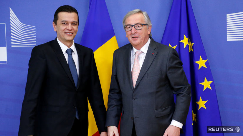 Jean-Claude Juncker, Sorin Grindeanu