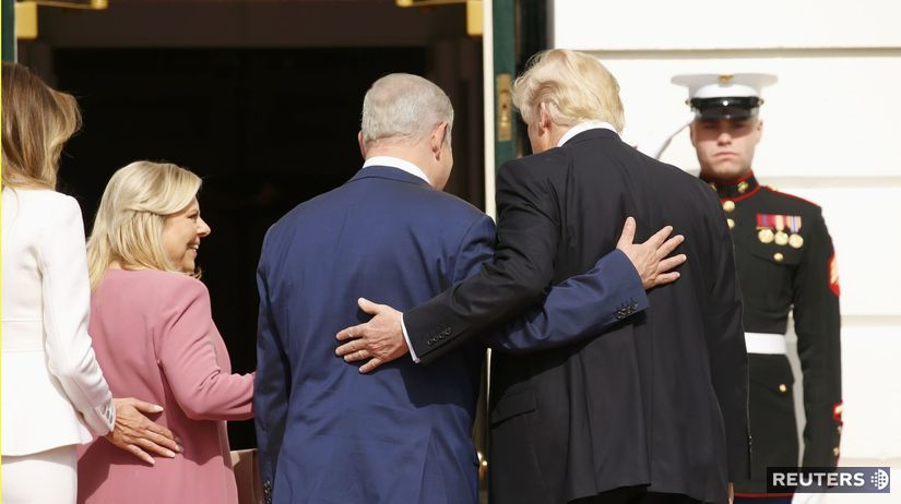 Trump, izrael,Netanjah