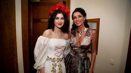Celeste Buckingham (vľavo) a Sisa Sklovska.