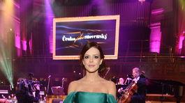 Slovenská herečka Andrea Kerestešová.