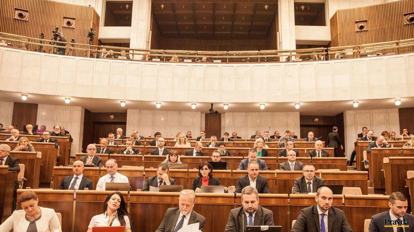 parlament, opozícia, nrsr,