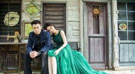 Taiwan, svadba, pár,