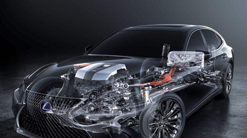 Lexus LS 500h - 2017