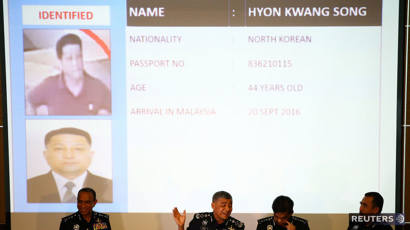 polícia, vyšetrovatelia, Malajzia, Kim Čong-nam