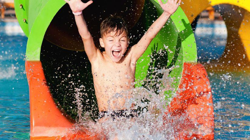kúpalisko, kúpanie, tobogan, bazén, akvapark,...
