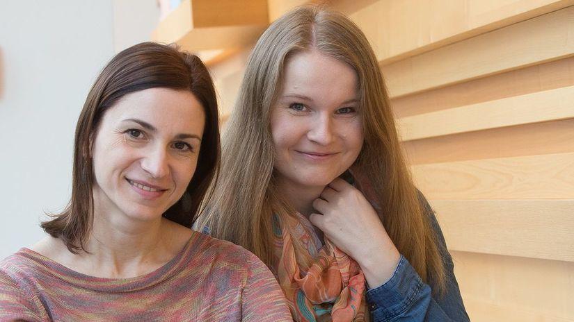 Monika Kompaníková a Iveta Grófová