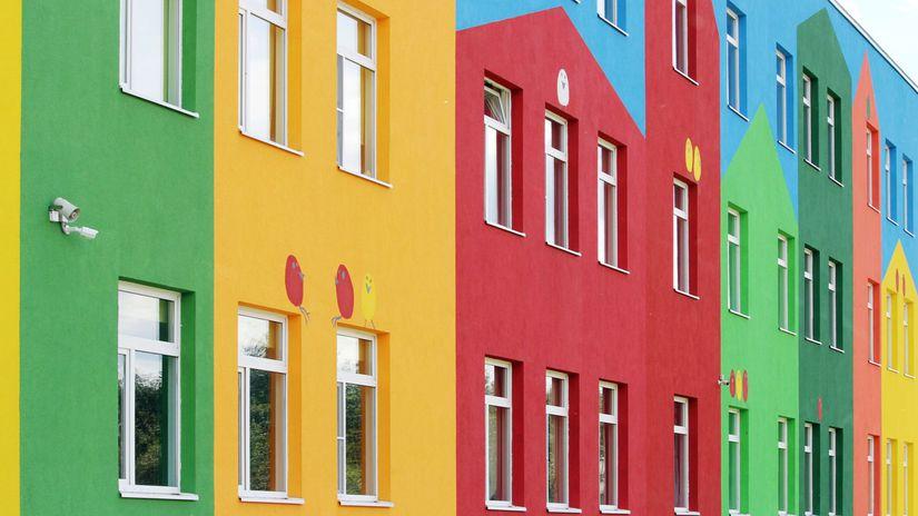 fasada, rekonštrukcia, byt, farba