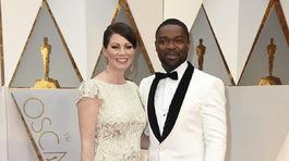 Herec David Oyelowo s manželkou Jessicou Oyelowo.