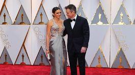 Herec Matt Damon a jeho manželka Luciana Barroso.