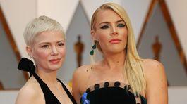 Herečky a kamarátky Michelle Williams (vľavo) a Busy Philipps.