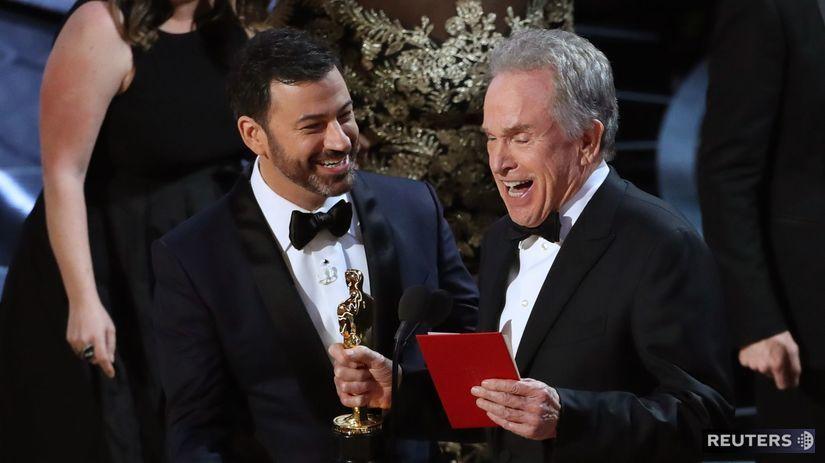 Jimmy Kimmel a Warren Beatty
