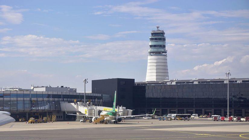 letisko, vide, schwechat