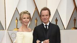 Manželský pár Sting a Trudie Styler.