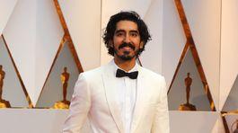 Nominovaný herec Dev Patel.