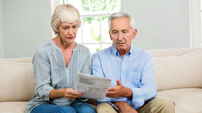 dôchodca, dôchodok, exekúcia, peniaze