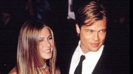 Jennifer Aniston a Brat Pitt