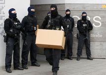 polícia, Berlín, razia, radikál, islamisti, Nemecko