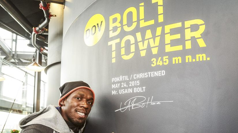 Bolt Tower, Ostrava, Usain Bolt,