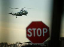 helikokoptéra, Marine One, Donald Trump, Dover
