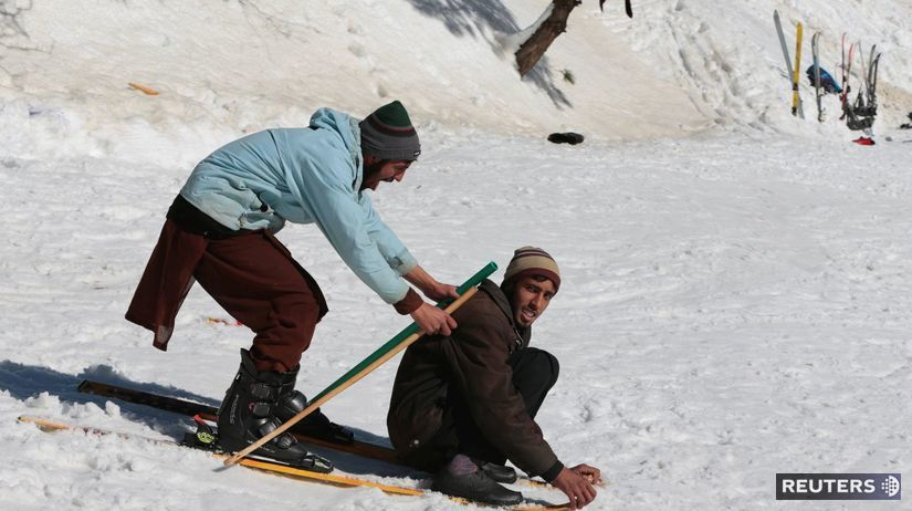 Pakistan, lyžovačka, lyžiarske stredisko, zima,...