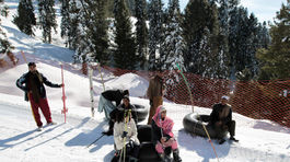 Pakistan, lyžovačka, lyžiarske stredisko, zima, sneh,  Malam Džabba, Svát