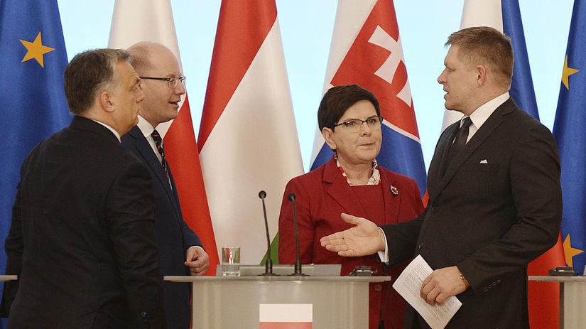 Vyšehrádska štvorka, Fico, Orbán, Szydlová,...
