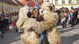 fašiangy, masky, Slovinsko, Markovci
