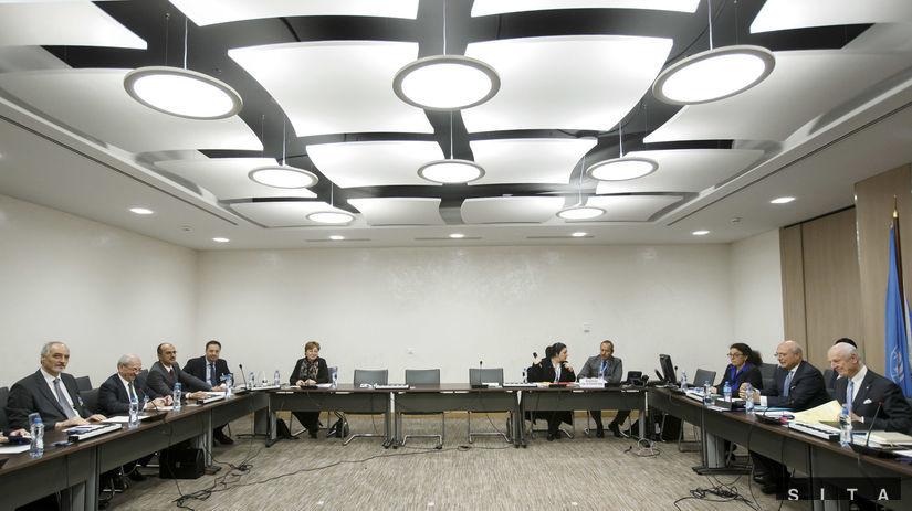 Mierové rokovania v Ženeve.