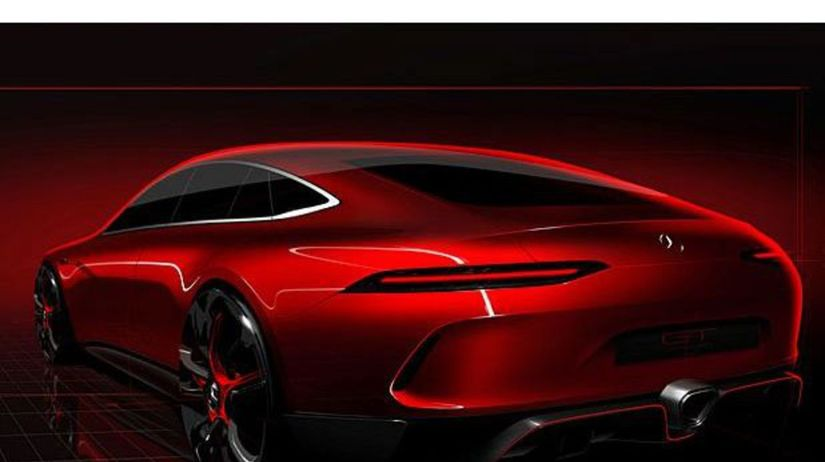 Mercedes-AMG GT Concept - 2017