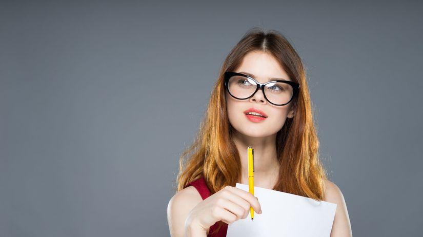 žena, štúdium, maturita