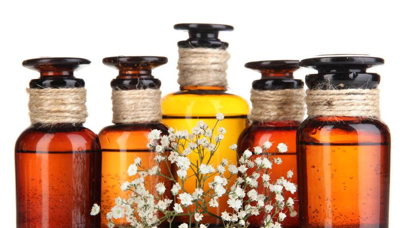 aromaterapia, éterický olej