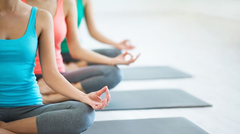 cvičenie, joga, relax