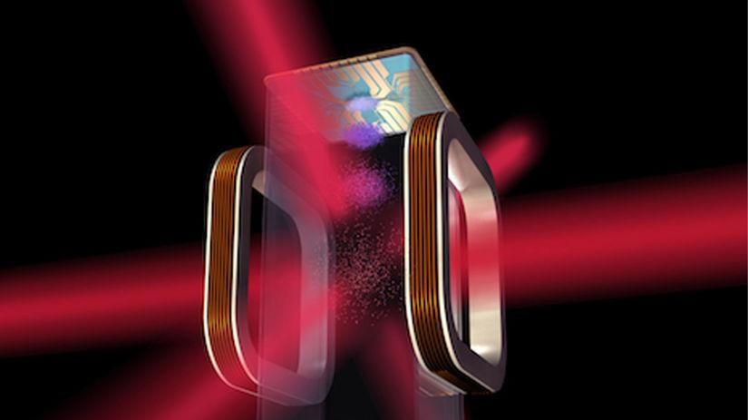 chlad, magneticko-optická pasca