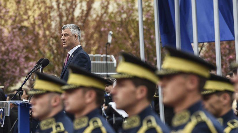 Kosovo President armáda vojak vojaci