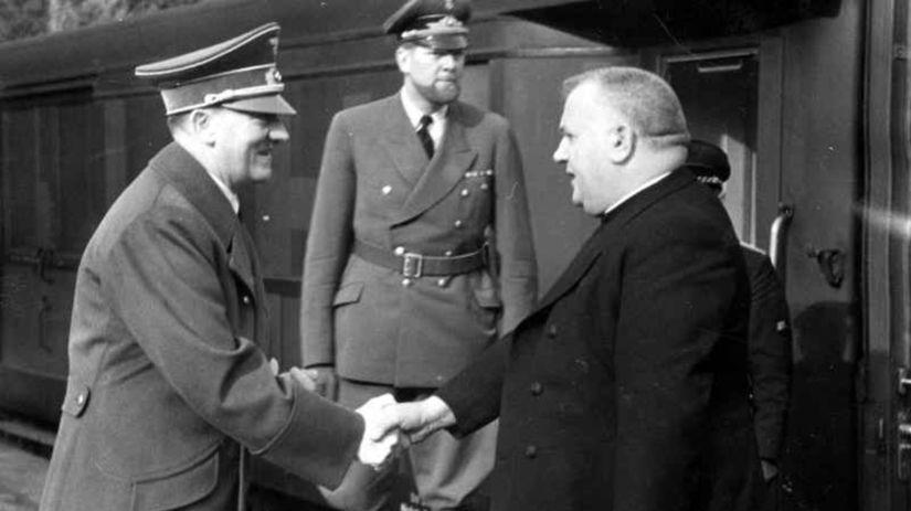 Tiso, Hitler