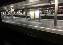 Düsseldorf, vlaková stanica, stanica, nástupište