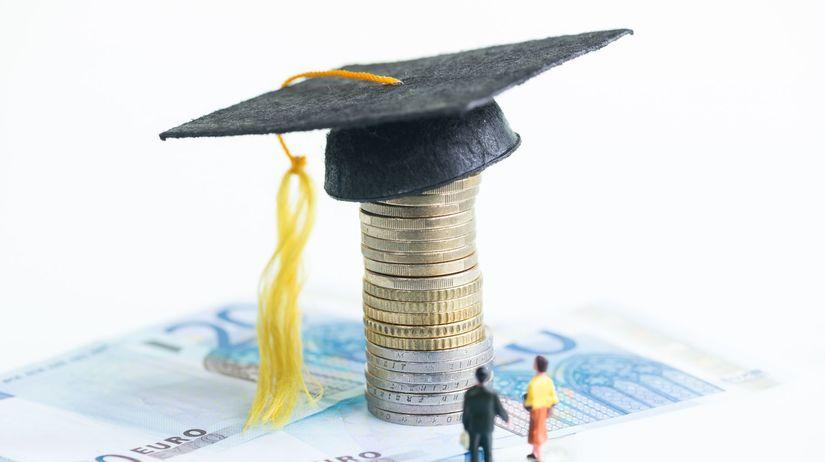 euro, absolvent, studium, práca