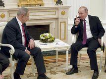 Netanjahu pocestuje za Putinom, stretnú sa v Soči