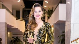 Ocenená speváčka roka Kristína.