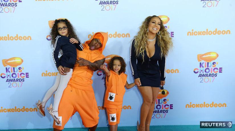 Speváčka Mariah Carey a jej exmanžel Nick...