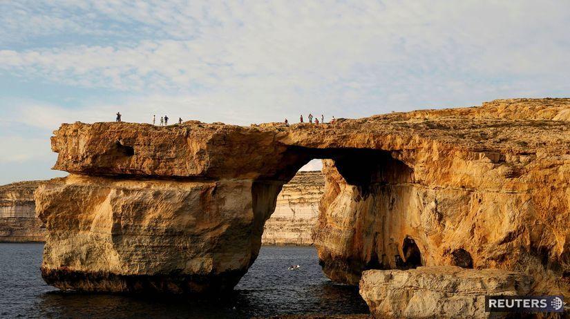 Azúrové okno, Malta, more