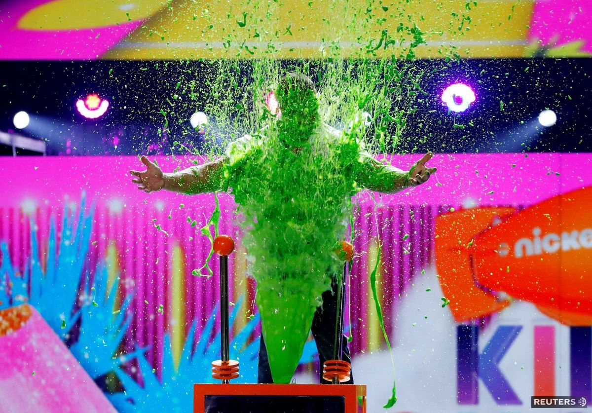 Kids´ Choice Awards, farby,